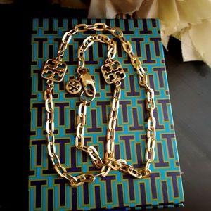 New! Tory Burch Double Wrap Link Bracelet!